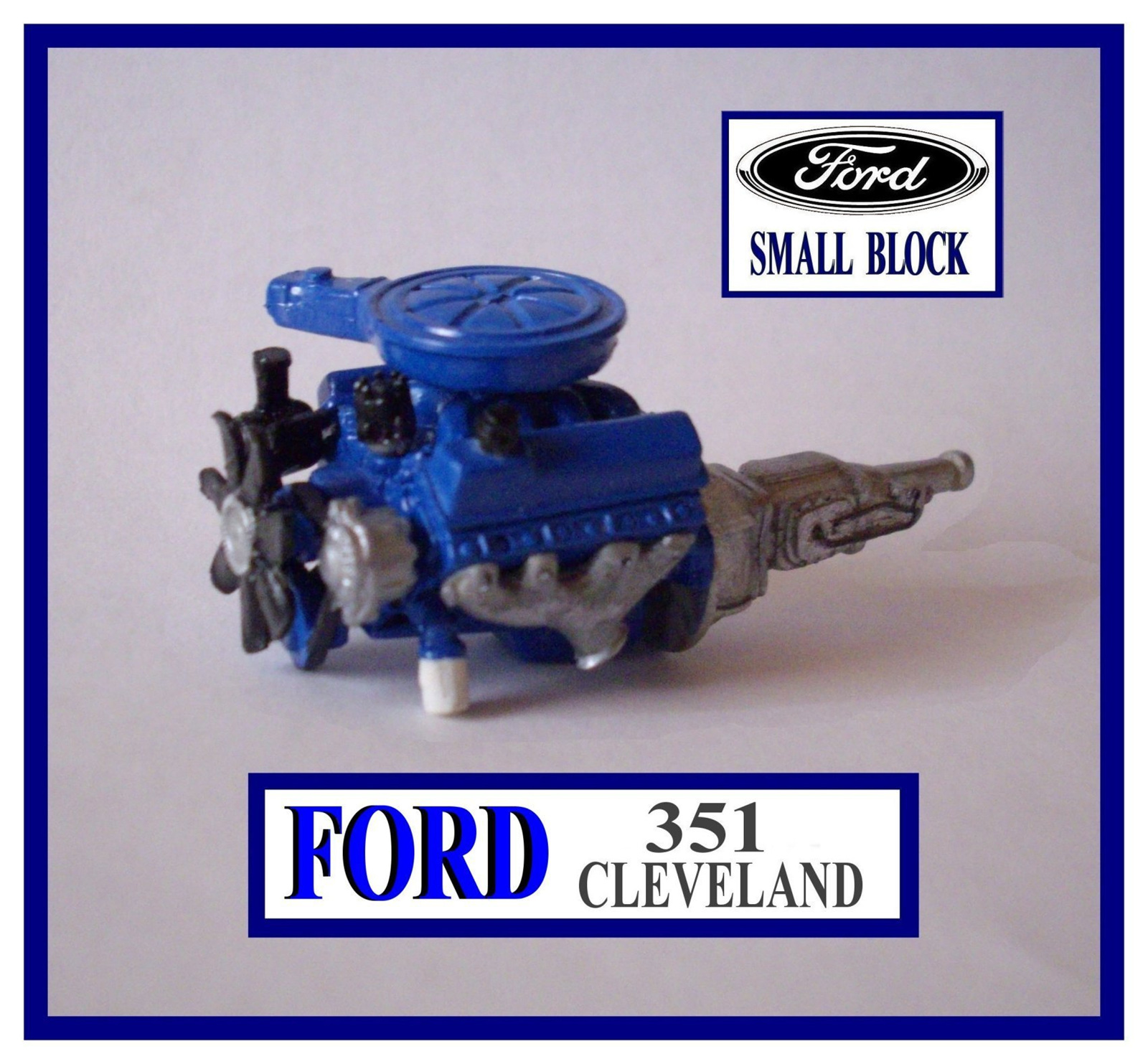 Resin ford 351 cleveland engine kit 1 24 1 25 scale