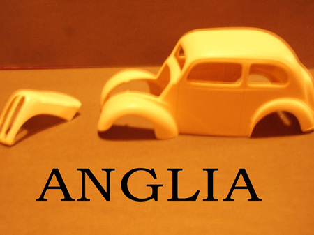 RESIN FORD ANGLIA 1/24 SCALE