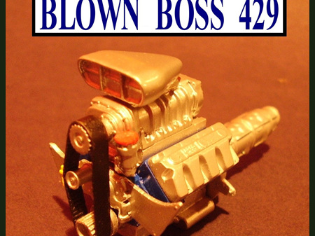 RESIN FORD BOSS 429 PRO MOD ENGINE KIT 1/24 1/25 SCALE