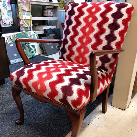 Restore & Reupholster Grandmother Chair