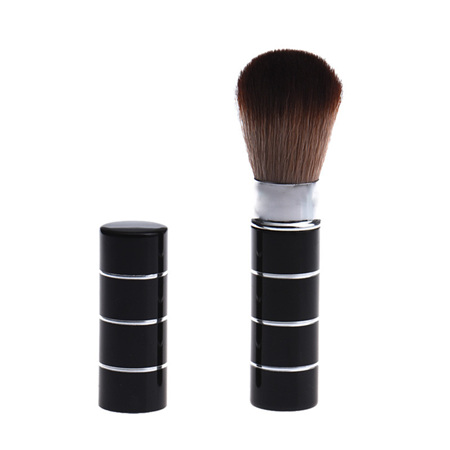 Retracatable Makeup Brush - Black