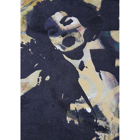 Retro Black and White Decoupage Paper by Mint