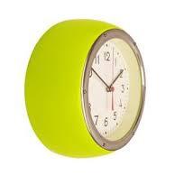 Retro Clock Lime