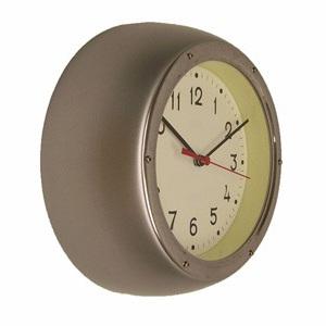 Retro Clock Silver
