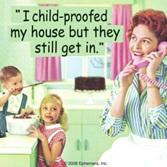 Retro Coaster - I child-proofed my house