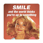 Retro Coaster - Smile & the world thinks