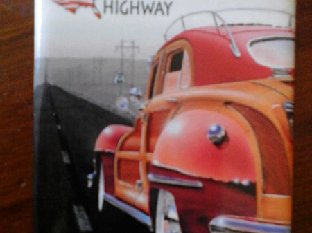 Retro Fridge Magnet - US Route 66