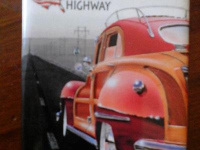Retro Fridge Magnet - US Route 66
