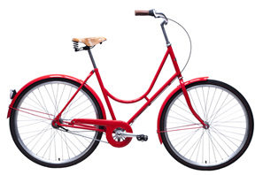 Retro Lady (Red) bike by Steelhorse