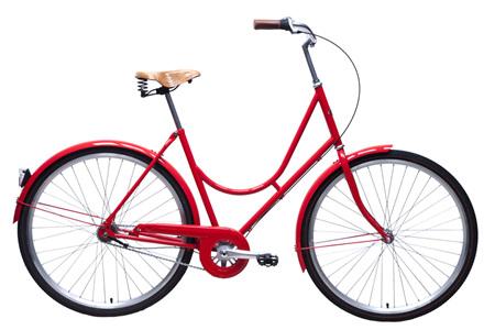 Retro Lady (Red) bike by Steelhorse