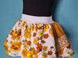 Retro Mustard Skirt Size 2-3