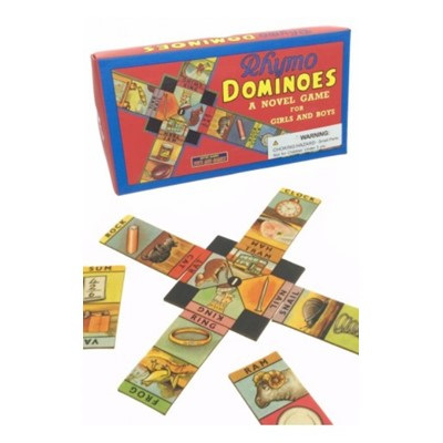 Retro Rhymo Dominoes