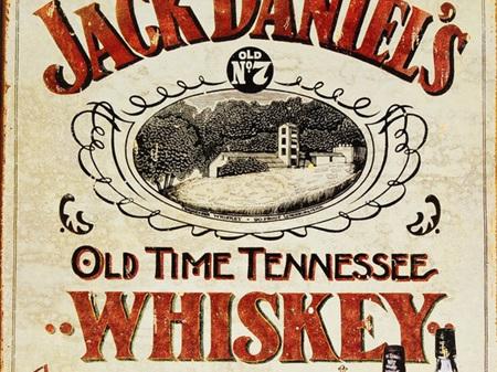 Retro Tin Sign - Jack Daniels Old No.7