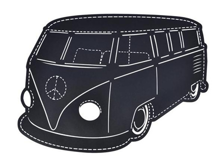 Retro Van - Blackboard Wall Sticker
