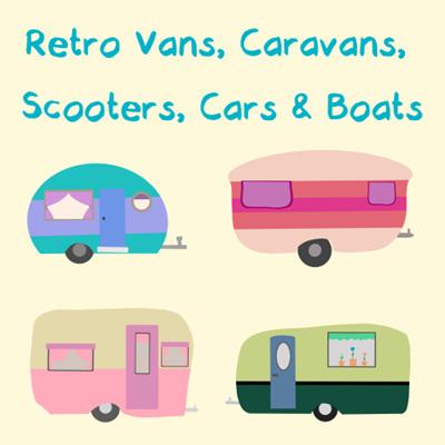 Retro Vans, Caravans, Scooters, Cars & Boats