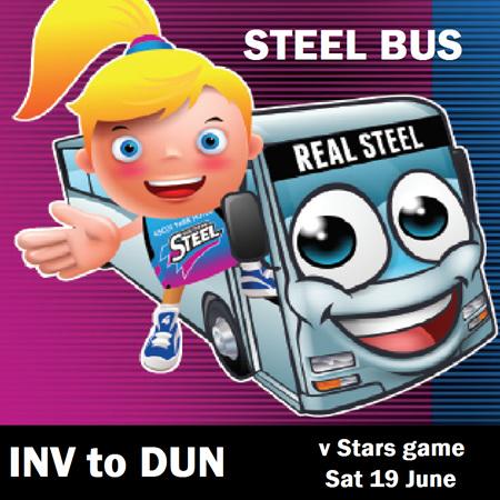 Return Bus Ticket - Saturday 19 June V Stars