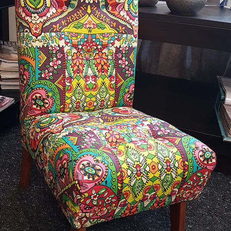 Reupholster Kids Small Chair