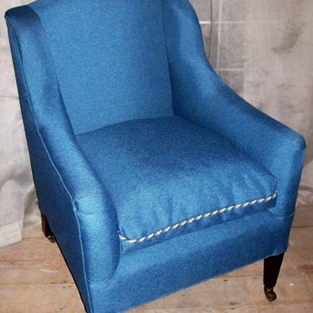 Reupholstered Classic Chair