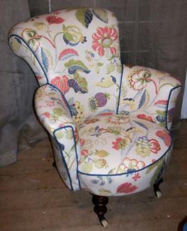 Nursing Chair Restoration
