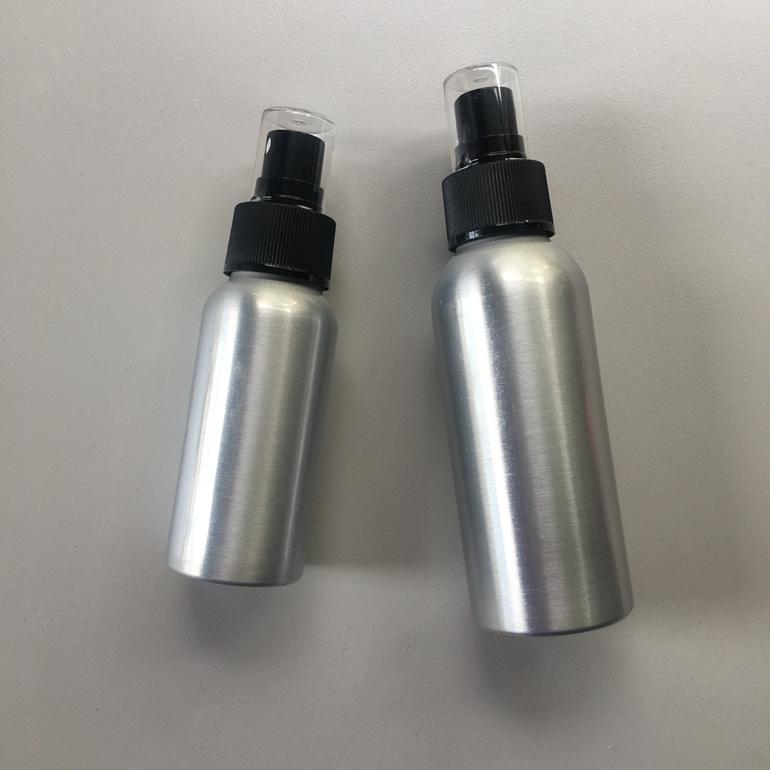 Reusable aluminium spray bottle zero waste natural insect repellent nz