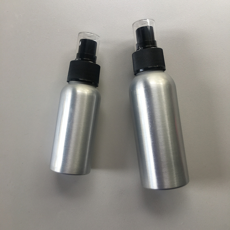 Reusable aluminium spray bottle zero waste natural insect repellent nz