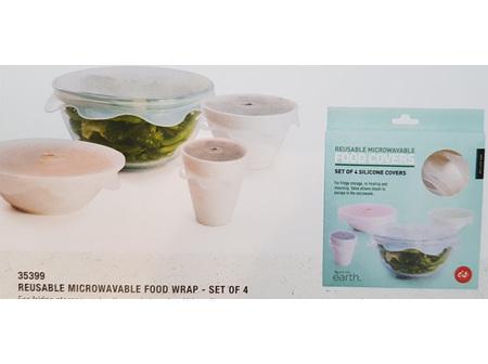 Reusable Microwaveable Food Covers