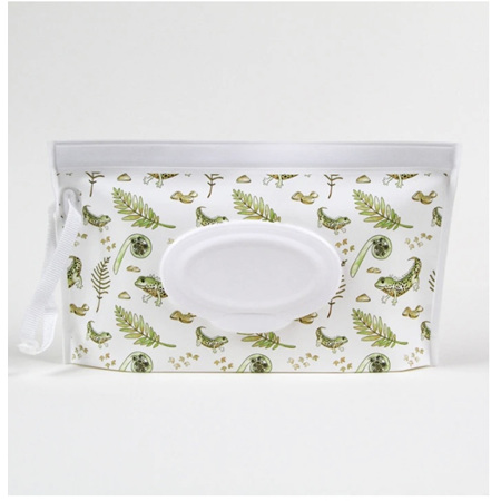 Reusable Wet Wipes -  Travel Pouch
