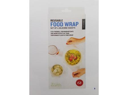 Reuseable Food Wrap (set of 4)