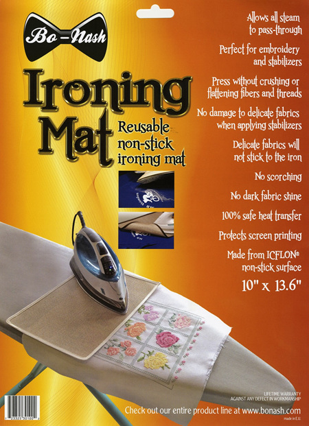 Reuseable Non Stick Ironing Mat from Bo-Nash