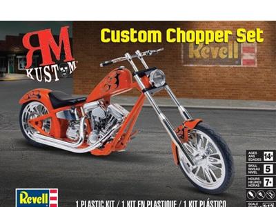 Revell 1/12 RM Kustom Custom Chopper Set