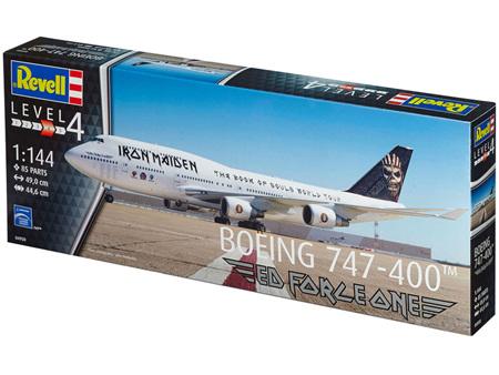 Revell 1/144 Boeing® 747-400 Iron Maiden®