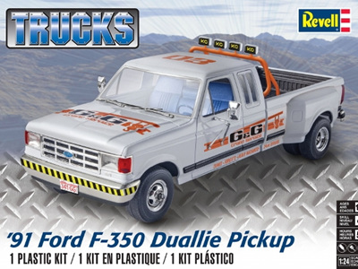 Revell 1/24 1991 Ford F350 Dually Pickup Truck