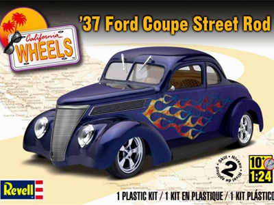 Revell 1/24 '37 Ford Coupe Street Rod