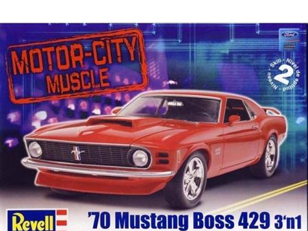 Revell 1/24 70 Mustang Boss 429 3n1