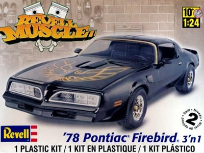 Revell 1/24 '78 Pontiac® Firebird® 3'n 1