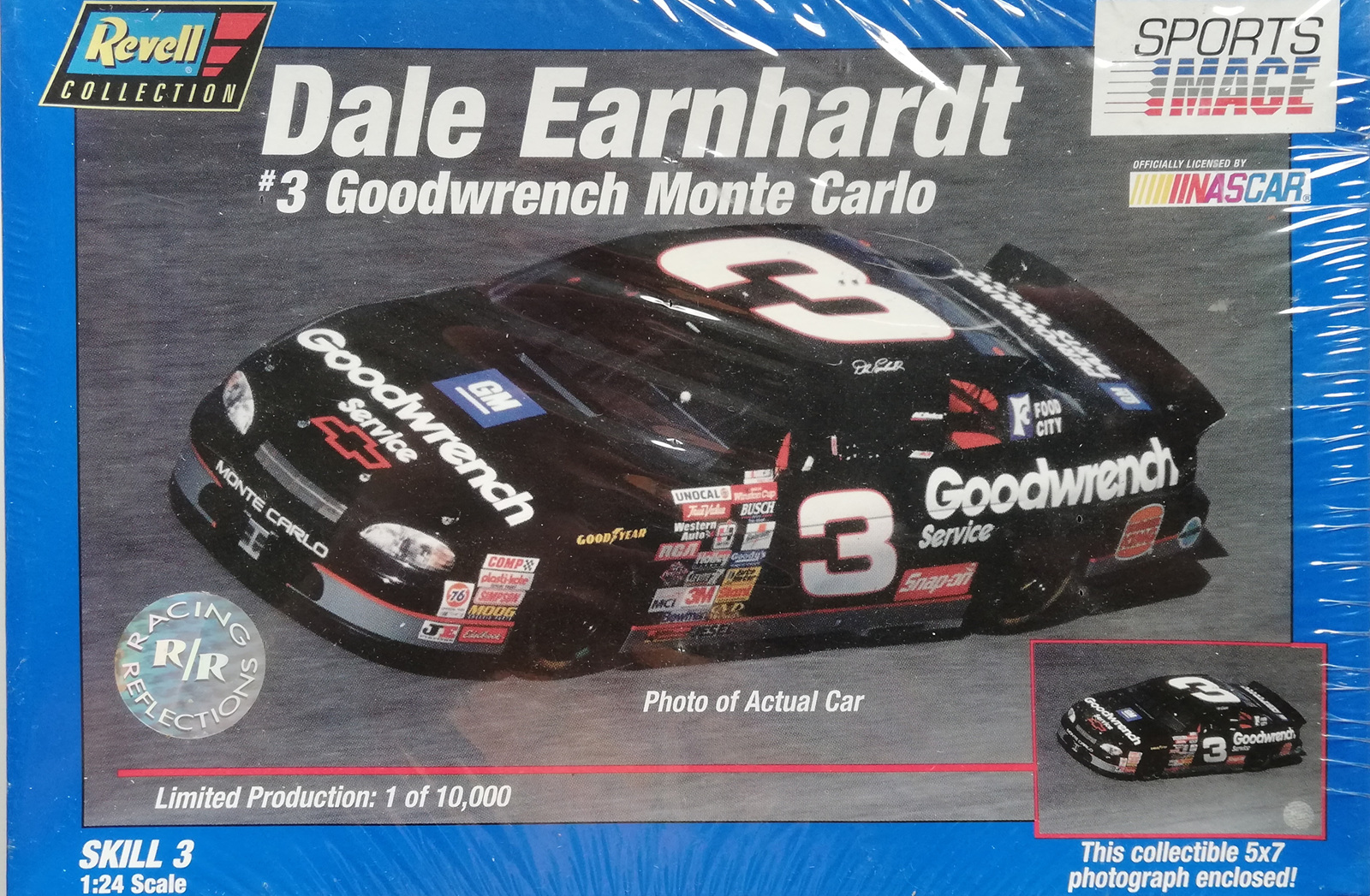 Revell 124 Dale Earnhardt Goodwrench Monte Carlo Ltd Edition