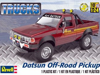 Revell 1/24 Datsun Off-Road Pickup Truck