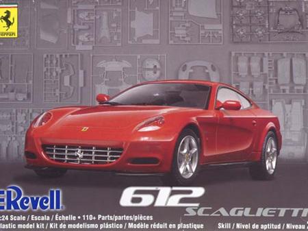 Revell 1/24 Ferrari 612 Scaglietti
