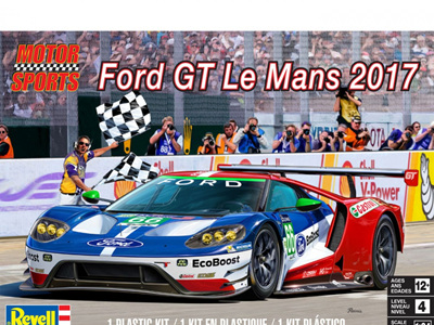 Revell 1/24 Ford GT Racing LeMans