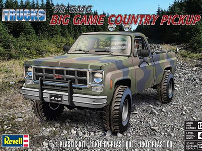 Revell 1/24 GMC® Big Game Country Pickup