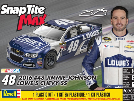 Revell 1/24 Lowe's Chevy SS  48 Race Car (Jimmy Johnson) (Snap)