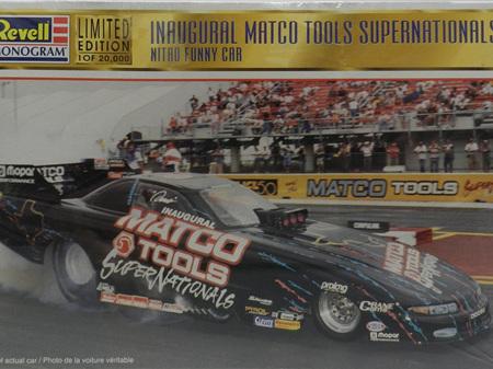 Revell 1/24 Matco Tools Supernationals Nitro Funny car