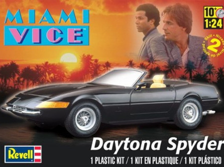 Revell 1/24 Miami Vice Daytona Spyder