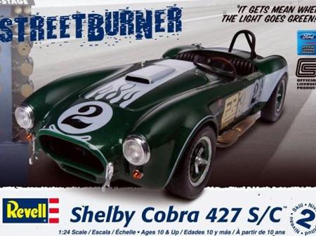 Revell 1/24 Shelby Cobra 427 S/C