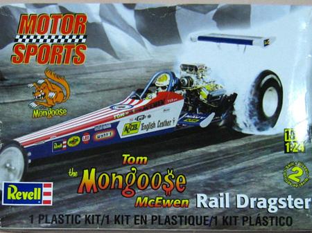 Revell 1/24 Tom Mongoose McEwen Rail Dragster