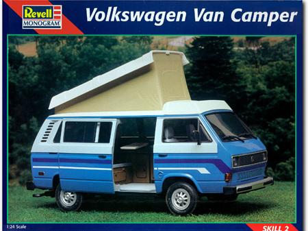 Revell 1/24 Volkswagen Van Camper