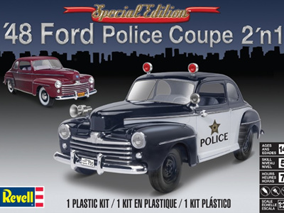 Revell 1/25 1948 Ford Police Coupe (2 in 1)