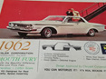 Revell 1/25 1962 Plymouth Fury - Rare Vintage Kit