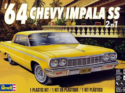 Revell 1/25 1964 Chevy Impala SS (2 'n 1)