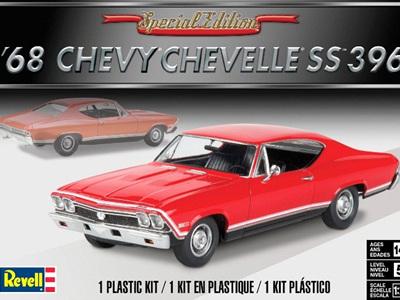 Revell 1/25 1968 Chevelle SS 396